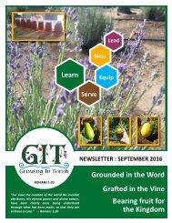 GIT Newsletter [1609] - September 2016