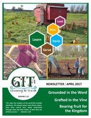 GIT Newsletter [1704] - April 2017