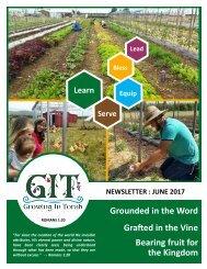 GIT Newsletter [1706] - June 2017