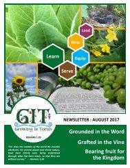 GIT Newsletter [1708] - August 2017