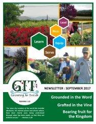 GIT Newsletter [1709] - September 2017