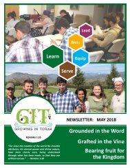 GIT Newsletter [1805] - May 2018