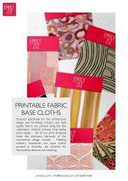 Emily Ziz Fabric Substrates