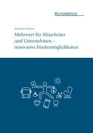 Mehrwert für Mitarbeiter und Unternehmen – innovative Fördermöglichkeiten