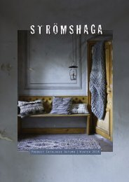 Strömshaga Catalouge Autumn Winter 2018