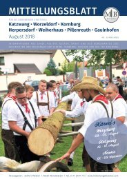 Nürnberg-Katzwang-Worzeldorf-Kornburg August 2018