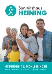 Sanitätshaus Heining - Produktkatalog Gesundheit & Wohlbefinden