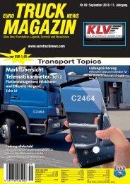 Euro Truck News Digital Nr. 09/2018