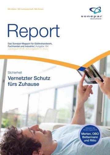 Report Juli August 2018