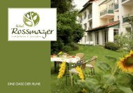 Hotel Rossmayer - Hauspropspekt