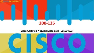 CCNA 200-125 Braindumps