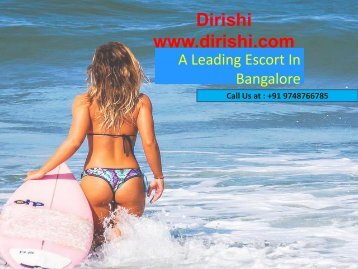 Bangalore Independent Escorts By Dirishi.com