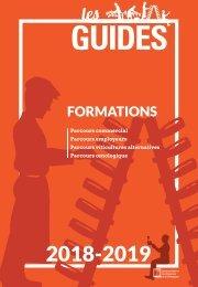 Les Guides du SGV - formations 2018-2019