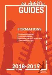 Les Guides du SGV - formations 2018-2019
