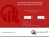 Commercial Satellite Imaging Market
