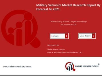 Military Vetronics Market Research Report - Global Forecast 2016-2021