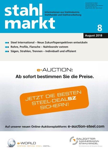 stahlmarkt 8.2018 (August)