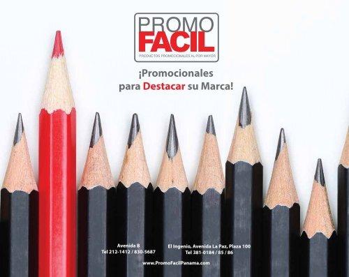 PromoFacil Catálogo de productos promocionales para destacar su Marca