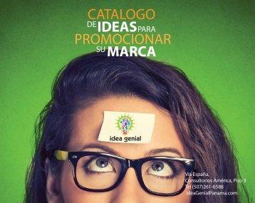Idea Genial Catálogo de Ideas para Promocionar su Marca