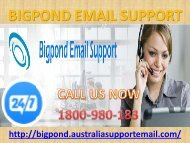 Bigpond Email Support 1-800-980-183   Recuperation Call