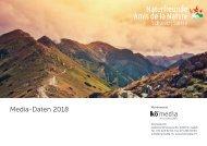 Naturfreund Mediadaten 2018