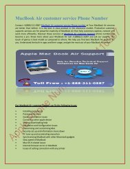 MacBook Air customer service Phone Number.output