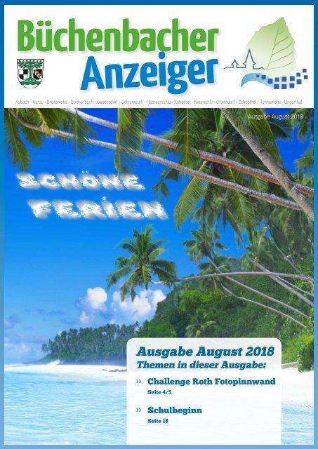 August 2018 - Büchenbacher Anzeiger