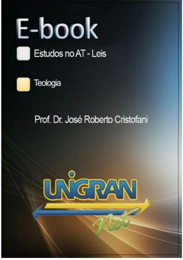 Estudos no Antigo Testamento - Leis - José Ribeiro