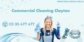 Commercial Cleaning Clayton