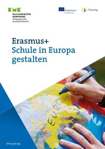 Erasmus+ Schule in Europa gestalten
