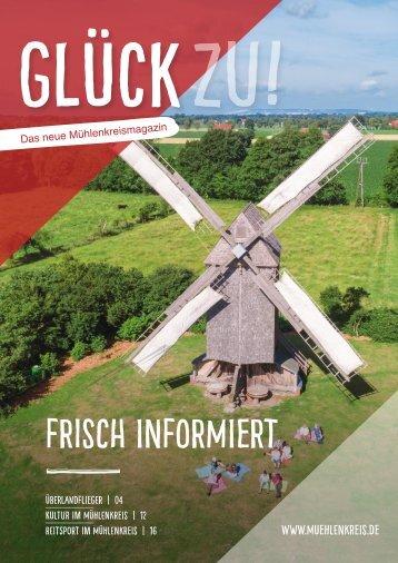 Glück zu! Das neue Mühlenkreismagazin