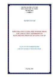 KIỂM TRA CHẤT LƯỢNG MỘT SỐ DƯỢC PHẨM CHỨA HOẠT CHẤT AZITHROMYCIN BẰNG PHƯƠNG PHÁP SẮC KÝ LỎNG CAO ÁP