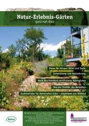 Natur-Erlebnis-Gärten - Kräuter- und Wildpflanzengärtnerei Strickler