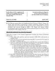 Exhibit No. KJH-2 Page 1 of 6 In The Matter Of The ... - Xcel Energy