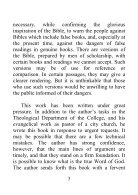 Our Authorized Bible Vindicated - Benjamin G. Wilkinson - Page 3