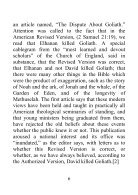 Our Authorized Bible Vindicated - Benjamin G. Wilkinson - Page 6