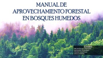 MANUAL DE APROVECHAMENTO FORESTAL