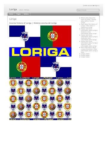 History of Loriga by the historian Antonio Conde - História de Loriga pelo historiador António Conde