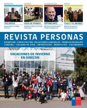 Revista Personas Julio 2018