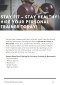 Stay Fit – Stay Healthy! Hire Your Personal Trainer Today! - Page 2