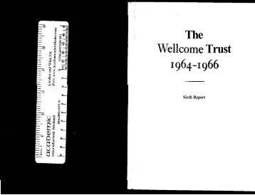 Trust 1964-1966 - Wellcome Trust