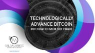 Technologically Advance Bitcoin Integrated MLM Software