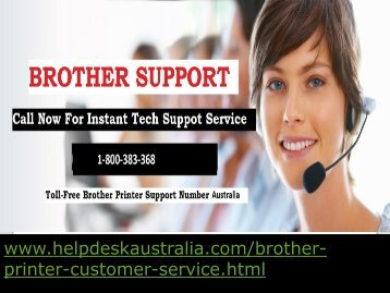 How to Resolve Driver installation issue Brother Printer Customer Service  Australia ?