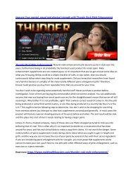 PDF Thunder Rock Male Enhancement