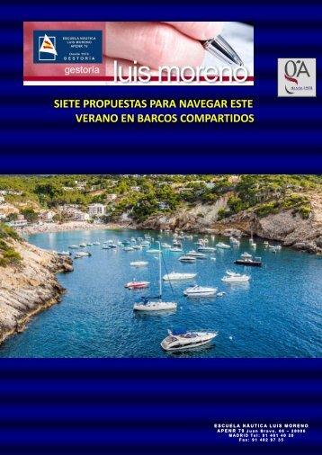 SIETE PROPUESTAS PARA NAVEGAR ESTE VERANO EN BARCOS COMPARTIDOS - Nauta360