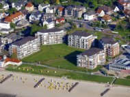 Luxuriously furnished apartments in Strandpalais Duhnen in Cuxhaven