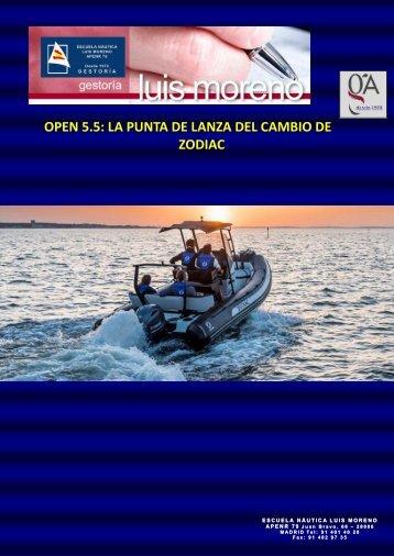 OPEN 5.5 LA PUNTA DE LANZA DEL CAMBIO DE ZODIAC - Nauta360