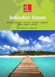 Tischler Reisen - Indischer Ozean 2018-19