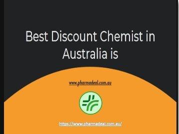 Best Discount Chemist in Australia at Pharmadeal