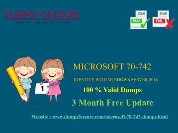 Microsoft 70-742 Dumps